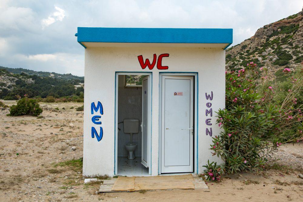 Openbare toiletten in Griekenland