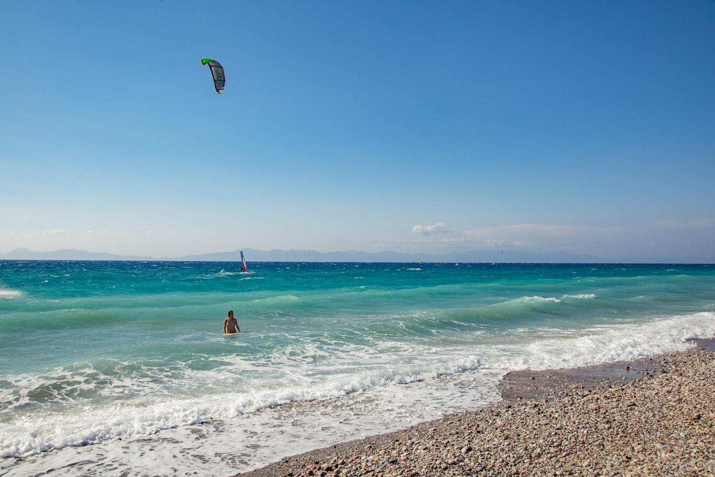 Een Grieks strand