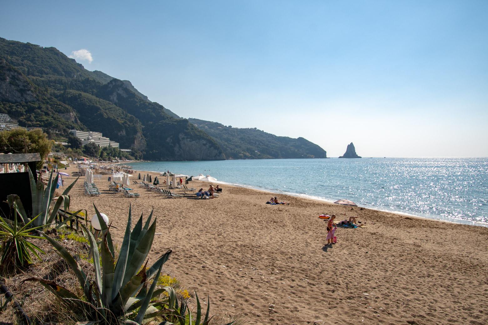Strand op Corfu